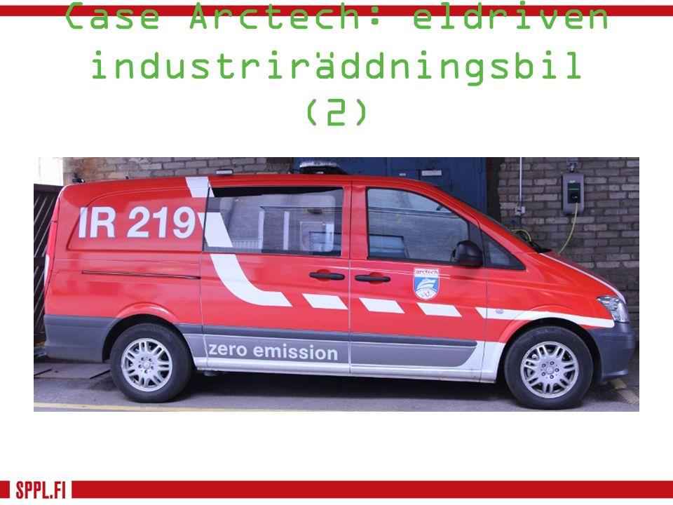 Case Arctech: eldriven industriräddningsbil (2)