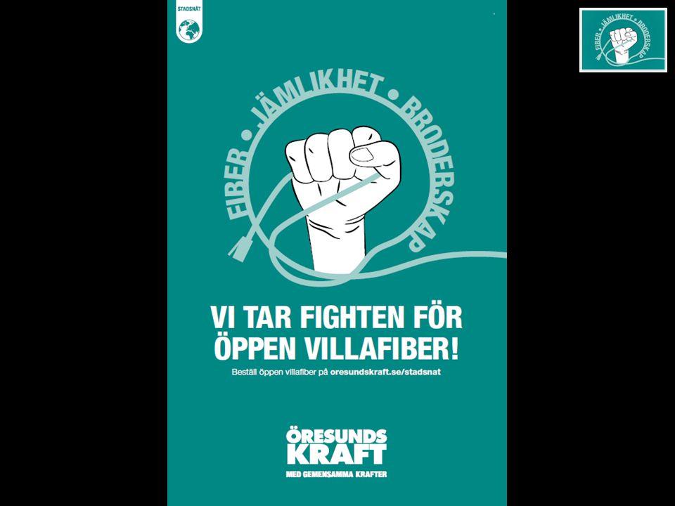 KAMPANJUPPLÄGG Helsingborgs villaägare - delta i kampanjen för öppen villafiber.
