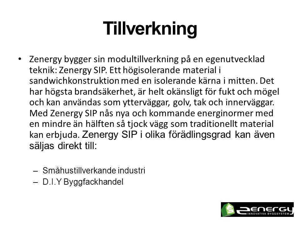 Produktion • Zenergys moduler tillverkas på plats i Lovsjö, gamla Lovsjö bruk på Torsvik industriområde utanför Jönköping.