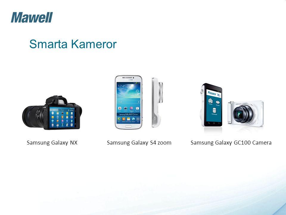 Smarta Kameror Samsung Galaxy NX Samsung Galaxy S4 zoom Samsung Galaxy GC100 Camera