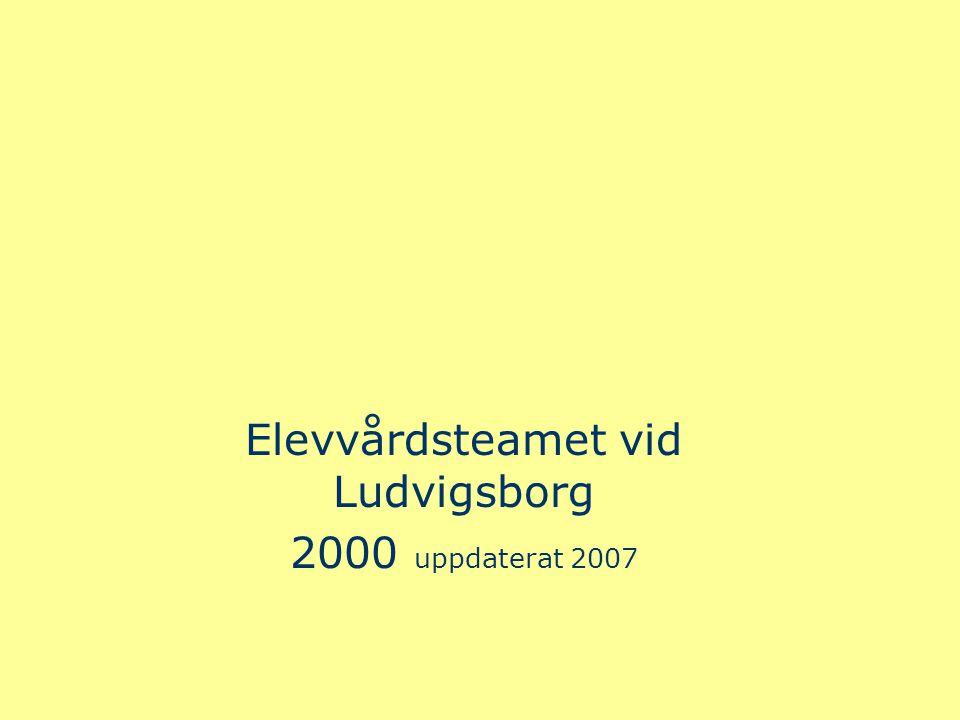 Elevvårdsteamet vid Ludvigsborg 2000 uppdaterat 2007
