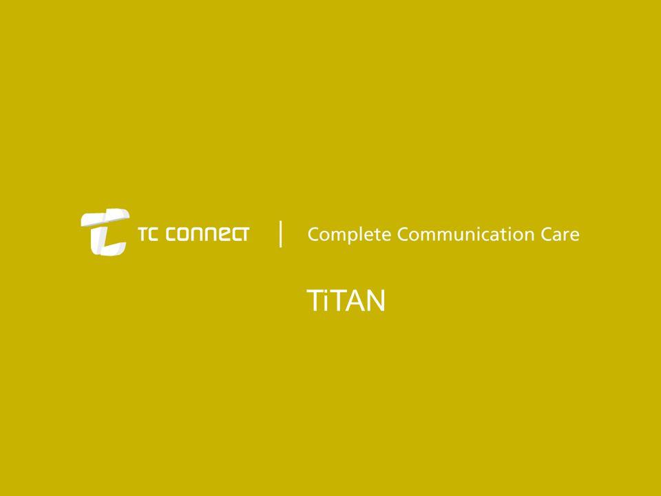 TiTAN erbjuder ett intuitivt och objektorienterat användargränssnitt med standardiserade funktioner från Microsoft Windows såsom Drag n' drop , dynamiska menyer och höger klicks funktioner.