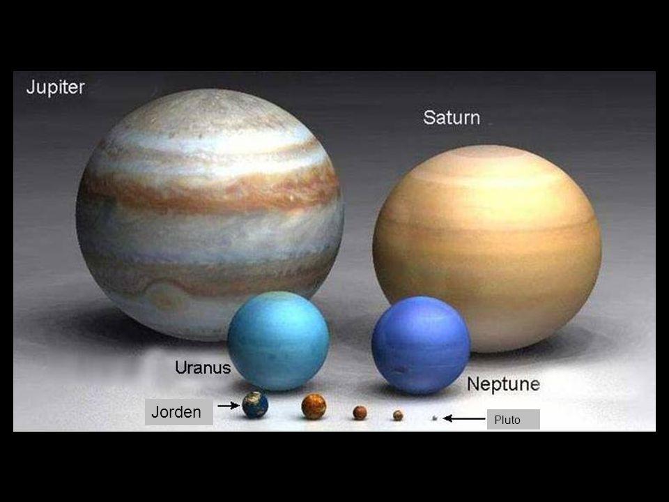 Jorden Pluto Mars Mercurius