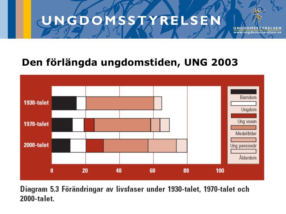 Den förlängda ungdomstiden, UNG 2003