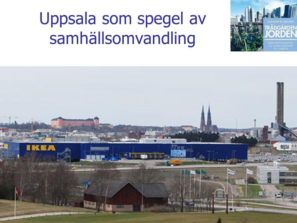 Gunnar Rundgren Trädgården Jorden Uppsala som spegel av samhällsomvandling