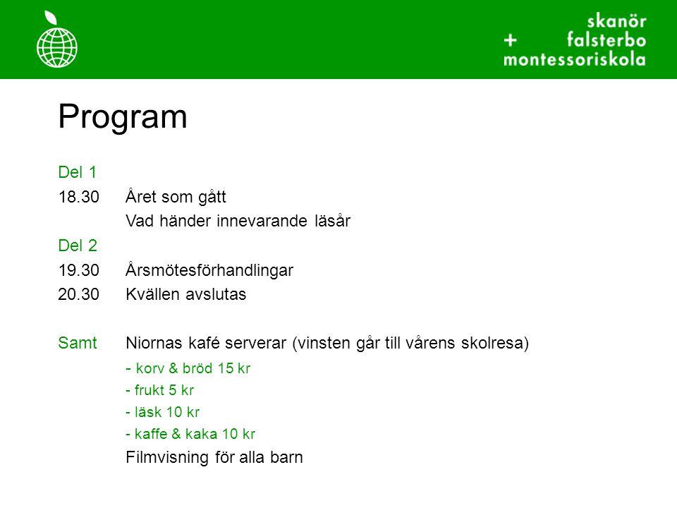 Introduktion 1.Verksamhetsåret 2009-2010 2. Styrelseåret 2009-2010 3.