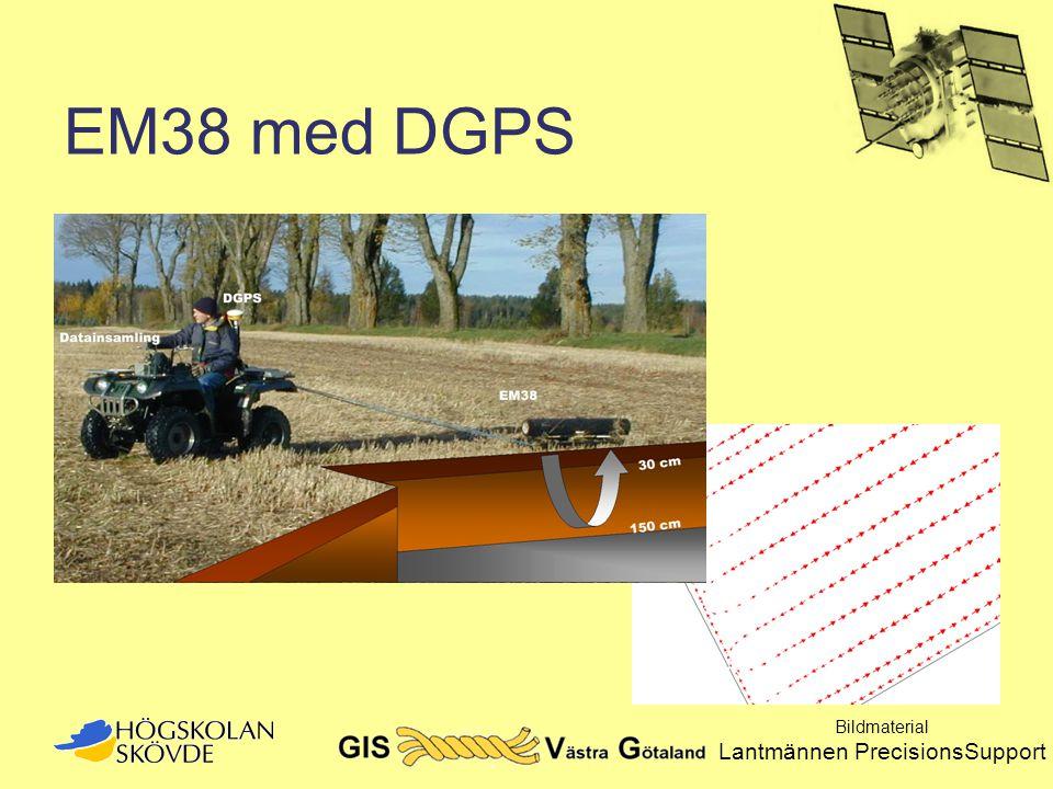 EM38 med DGPS Bildmaterial Lantmännen PrecisionsSupport