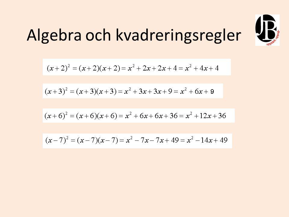 Att kvadrera parenteser kan göras med följande genväg.