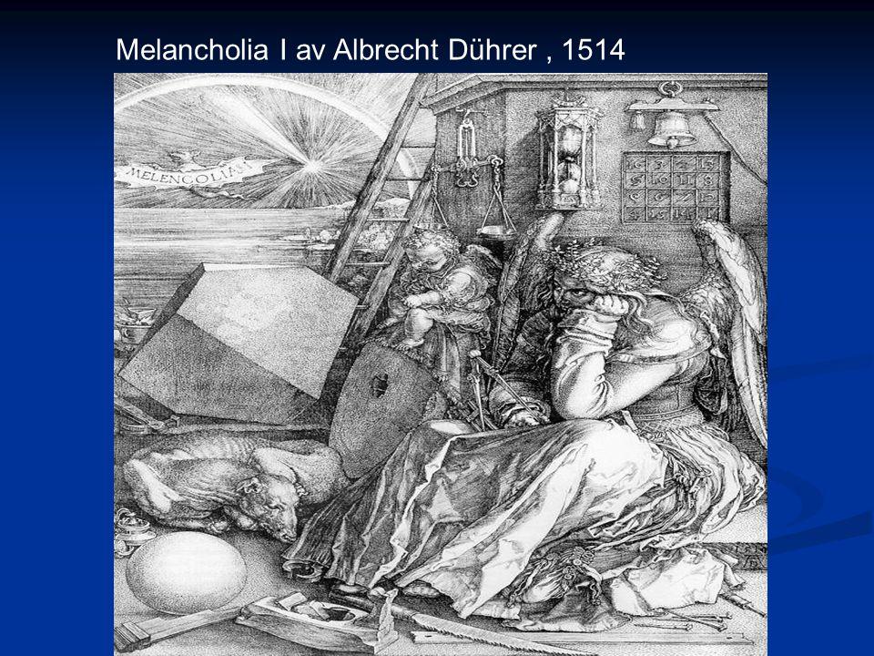 Melancholia I av Albrecht Dührer, 1514
