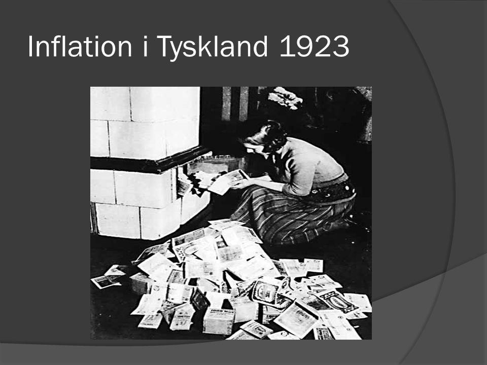 Inflation i Tyskland 1923