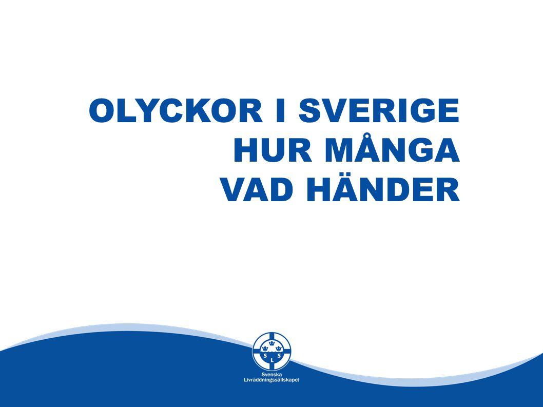 OLYCKOR I SVERIGE HUR MÅNGA VAD HÄNDER