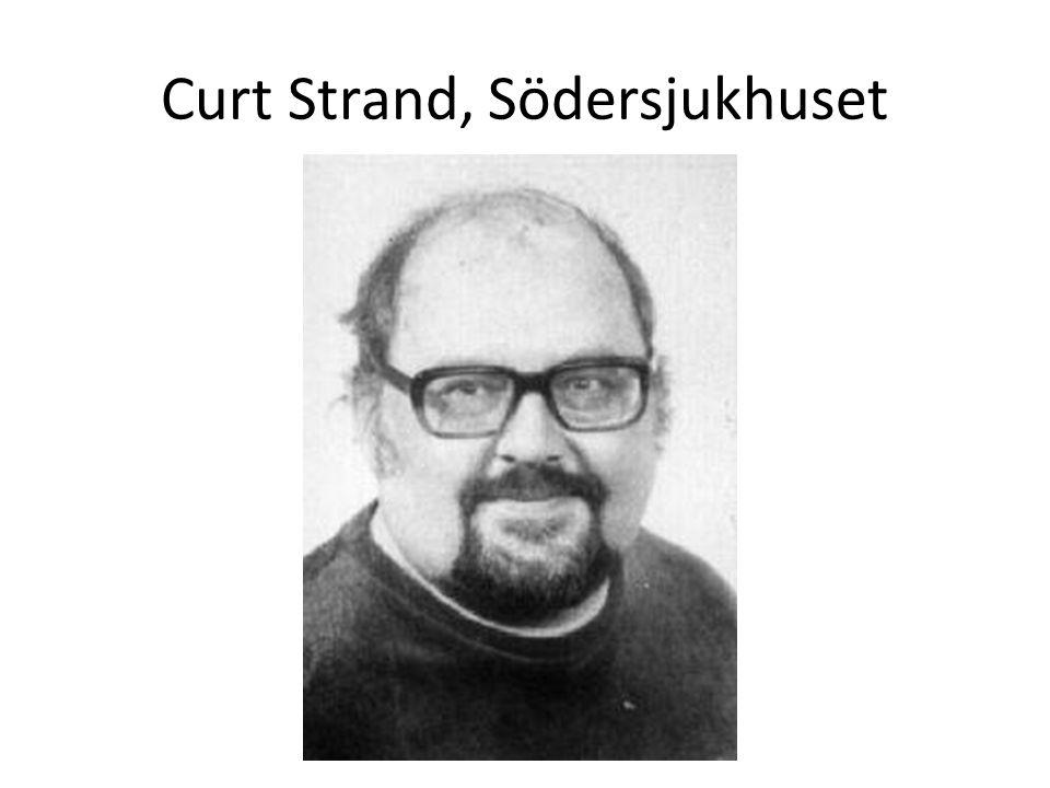 Curt Strand, Södersjukhuset