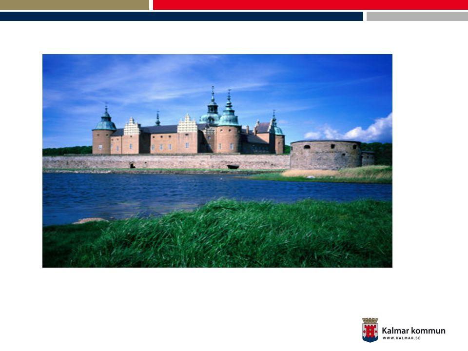 Kalmar kommun •Kalmar kommun 61 000 inv.•Kalmar län ung.