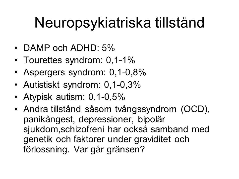Teorier om grundläggande neuropsykologiska skillnader mellan personer med autismspektrumstörning och neurotypiska Individer •Dålig theory of mind , ToM.