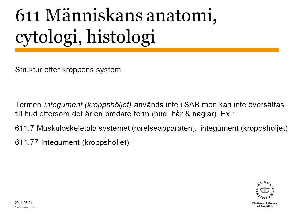Sidnummer 2014-06-24 7 612 Människans fysiologi.1 *Blodcirkulationssystemet.2 *Andningssystemet (respirationssystemet).3 *Matspjälkningssystemet.4 *Hematopoetiska systemet, lymfatiska systemet, glandulära systemet, urinsystemet.6 *Fortplantning, utveckling, mognad.7 Muskuloskeletala systemet (rörelseapparaten), integument (kroppshöljet).8 Nervsystemet