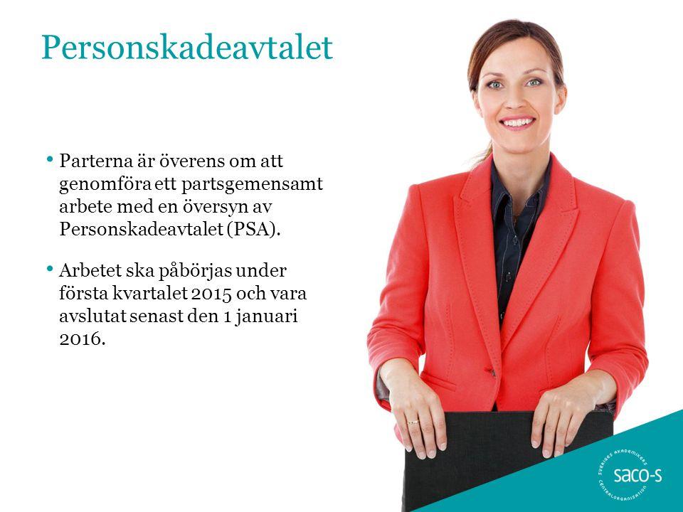 Personskadeavtalet • Parterna är överens om att genomföra ett partsgemensamt arbete med en översyn av Personskadeavtalet (PSA).