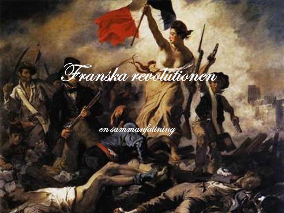 6.Den amerikanska revolutionen • Flera fransmän med och stred på amerikanarnas sida mot England.