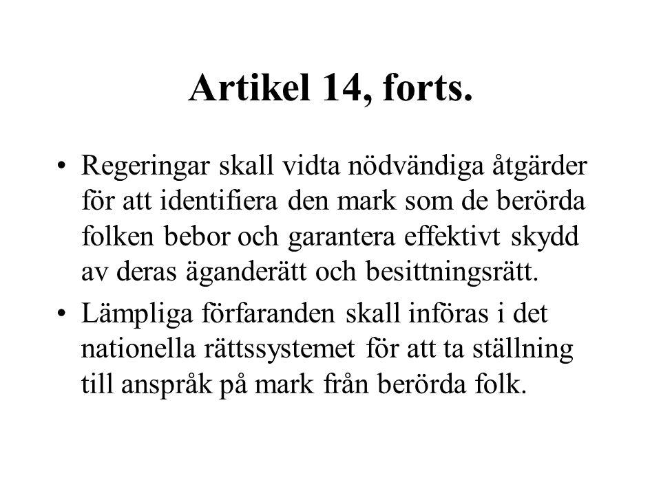 Artikel 14, forts.