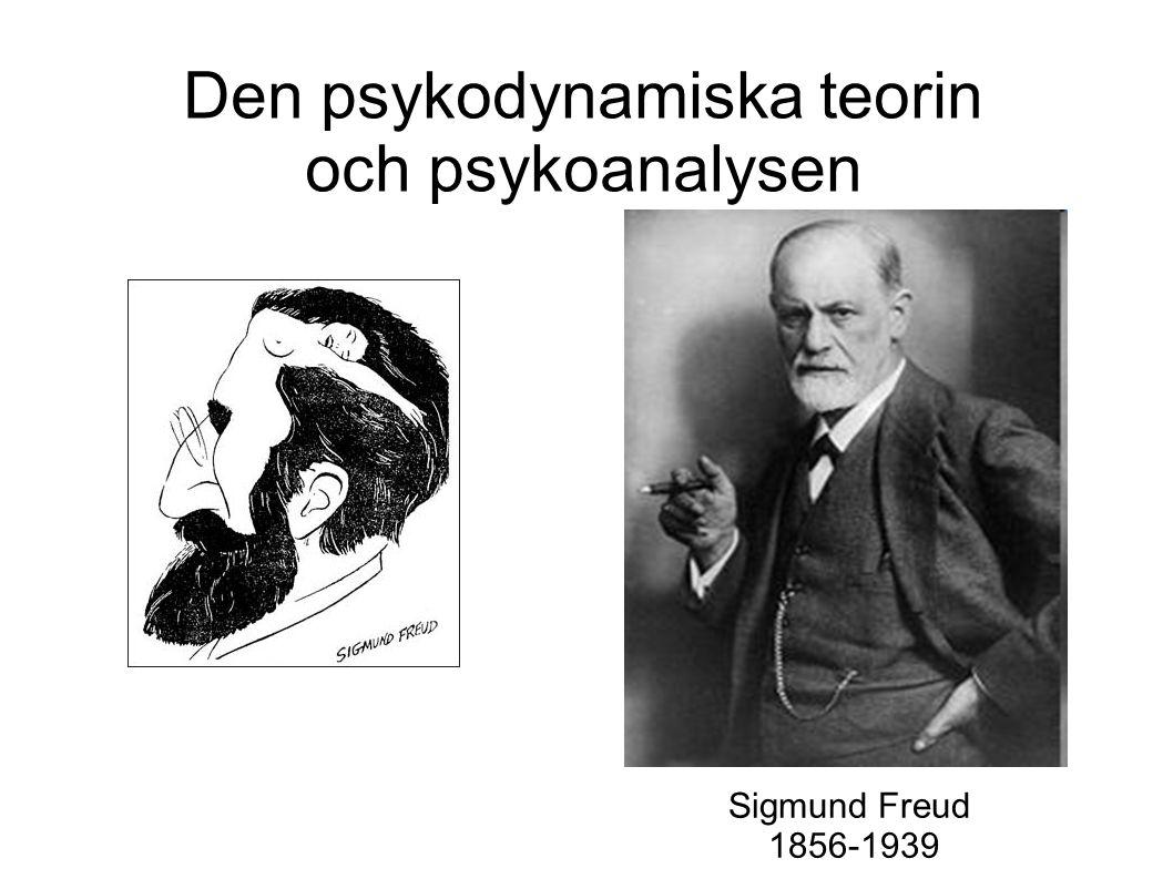 Den psykodynamiska teorin och psykoanalysen Sigmund Freud 1856-1939