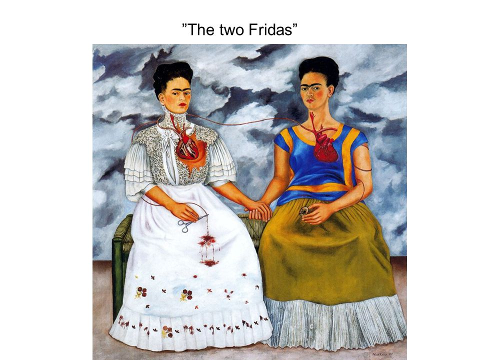 """The two Fridas"""