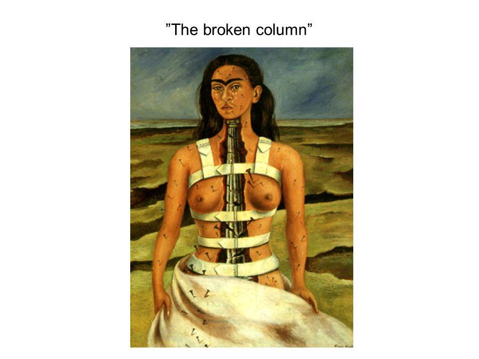 """The broken column"""