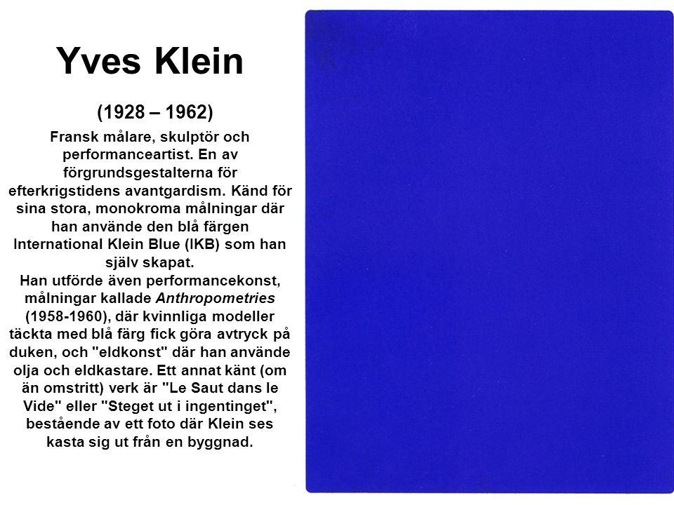 Yves Klein Kleinjump