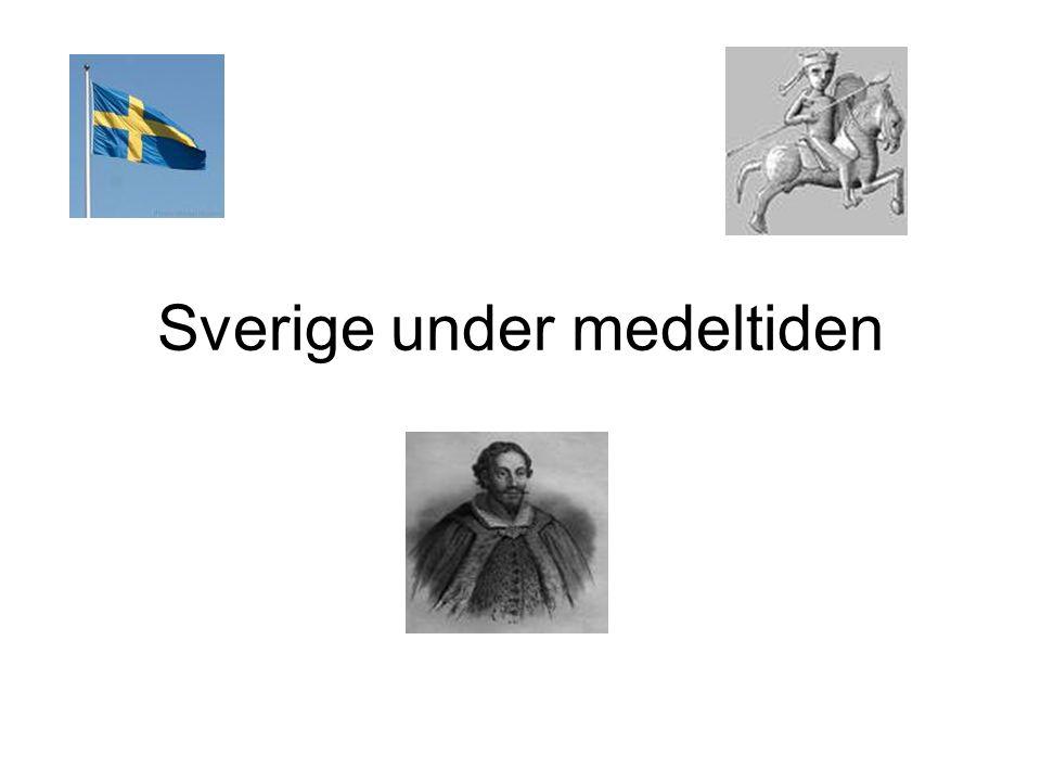 Norden kristnas •800-t Ansgar anländer till Norden •Vänder sig till kungar och hövdingar ----- folket följer efter •900-t tysk och engelsk mission, Norden knyts till det kristna västerlandet •Slutet av 1000-t är Sverige kristnat