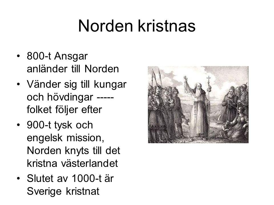 Tronstrider Kamp mellan Sverkerätten och Eriksätten 1100-1200-t Sverige är ett förbund av landskap Tvister avgörs på tingen Kungen har liten makt Kungen besökte tingen den s.k.