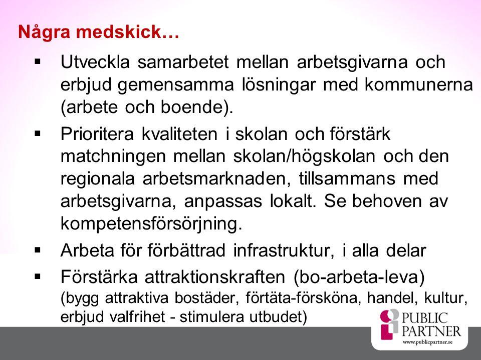  Utveckla samarbetet mellan arbetsgivarna och erbjud gemensamma lösningar med kommunerna (arbete och boende).