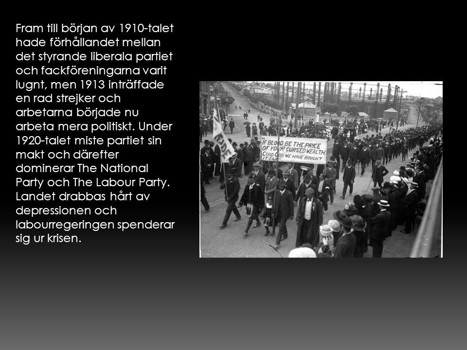 Fram till början av 1910-talet hade förhållandet mellan det styrande liberala partiet och fackföreningarna varit lugnt, men 1913 inträffade en rad str
