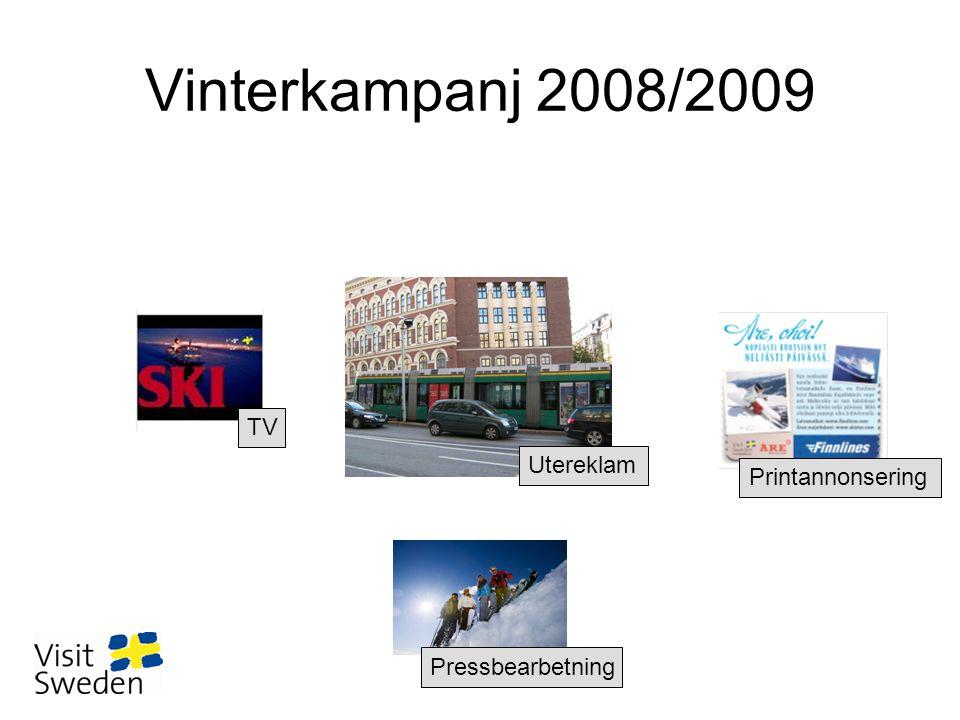 Vinterkampanj 2008/2009 TV Utereklam Printannonsering Pressbearbetning
