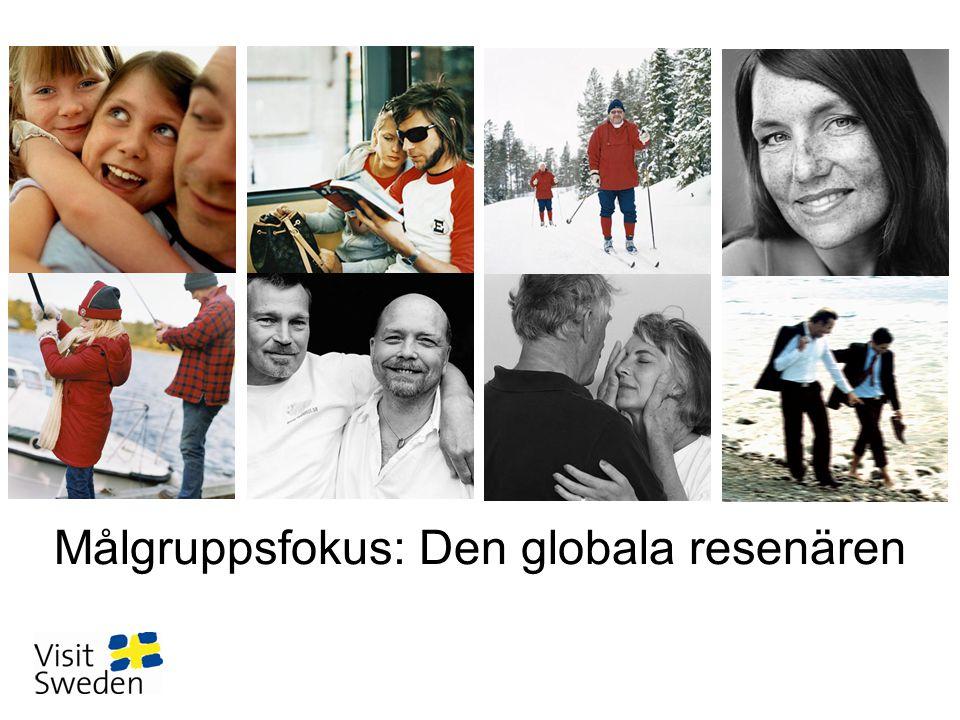 Målgruppsfokus: Den globala resenären