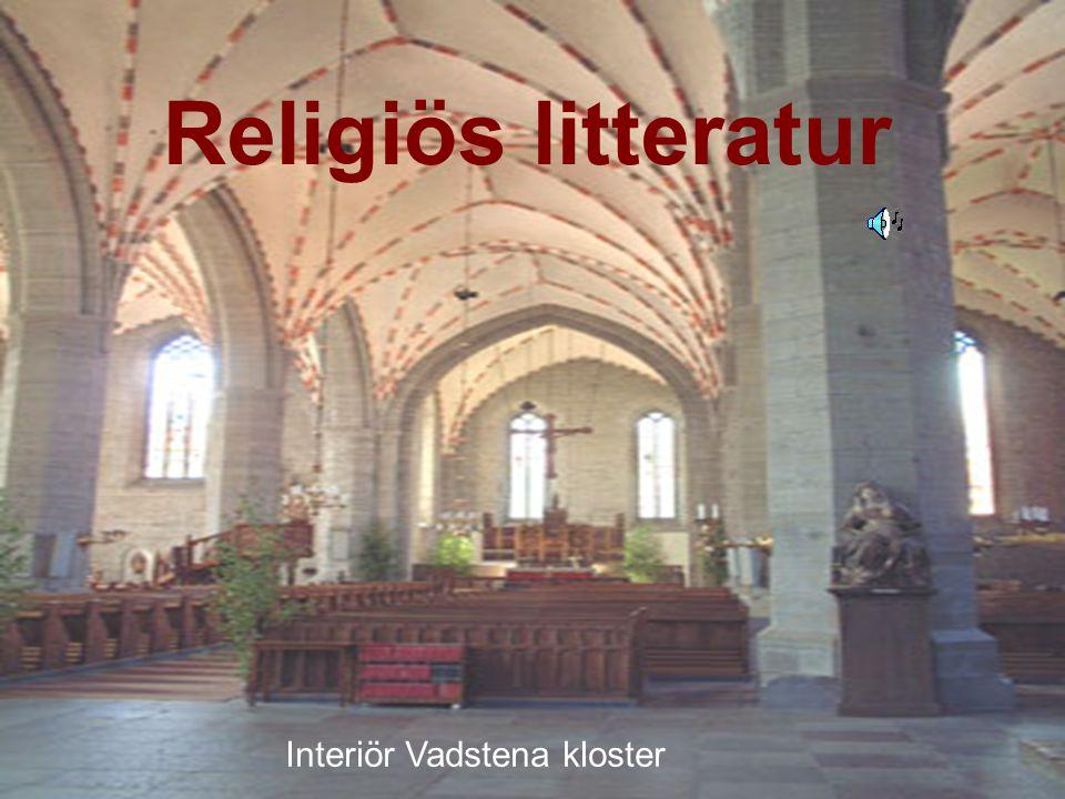 Religiös litteratur Interiör Vadstena kloster