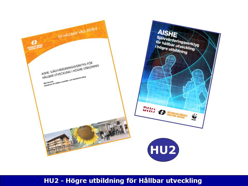 HU2 - Högre utbildning för Hållbar utveckling HU2