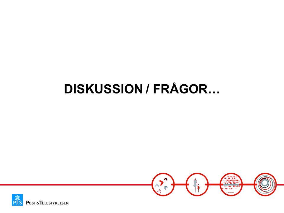 DISKUSSION / FRÅGOR…