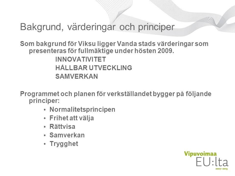 Varför sammanställs VIKSU.•Vanda är en av de kommuner i Finland som åldras snabbast.