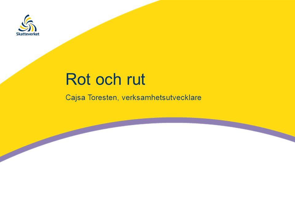 Rot och rut Cajsa Toresten, verksamhetsutvecklare