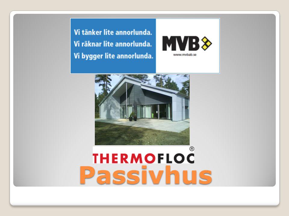 Vad är ett passivhus KravVårt hus  Ett passivhus är en mekanisk ventilerad byggnad som med ett välisolerat och lufttätt klimatskal använder minimalt med energi för uppvärmning.