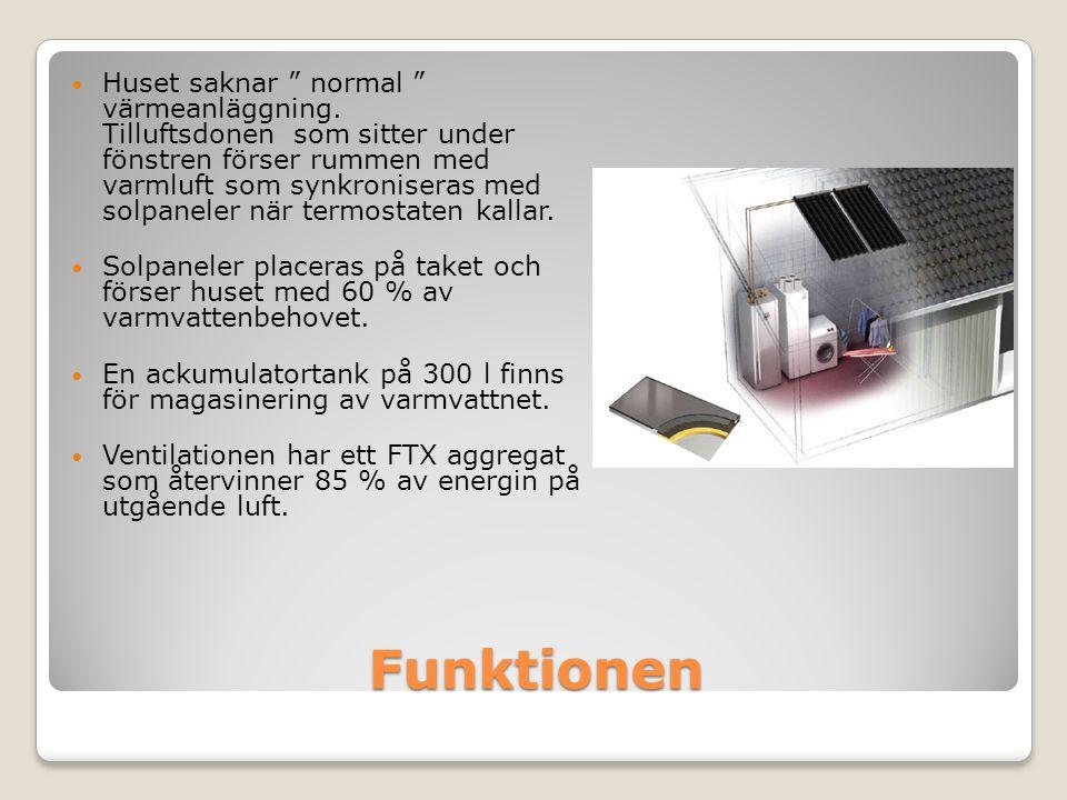 GRUNDEN • 300 cellplast • Genomföringar radonskyddade • L-element S200 • Betongplatta 100mm