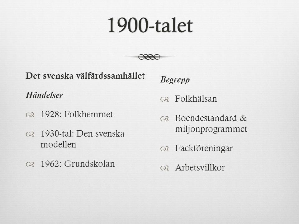 Välfärdssamhället SverigeVälfärdssamhället Sverige  Kännetecknande för ett välfärdssamhälle är en omfördelning av resurser till förmån för de individer och de sammanhang som kräver särskilda insatser.