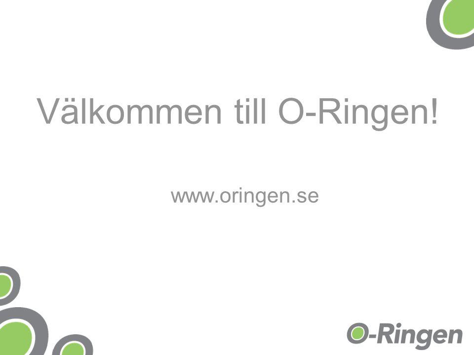 Välkommen till O-Ringen! www.oringen.se