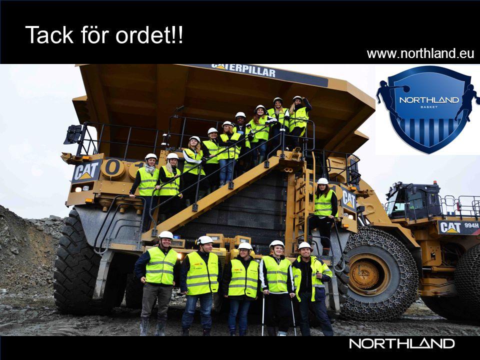 www Tack för ordet!! 30 www.northland.eu