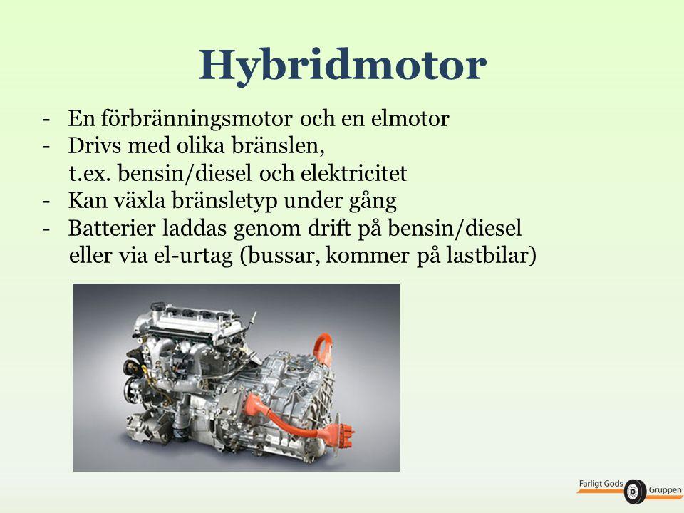 • Effekt = energi / tidsenhet = kraft x hastighet Effekt = arbetsförmåga • Vridmoment = kraft x hävarm Motorspråk: effekt = vridmoment x varvtal Ju större motor desto större vridmoment Effekt och vridmoment