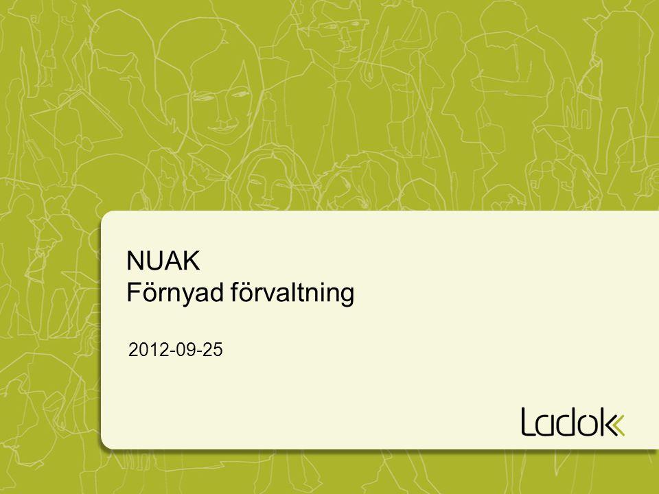 NUAK Förnyad förvaltning 2012-09-25
