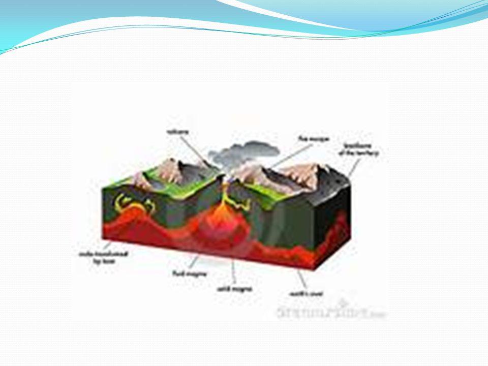 EROSION Allt berg som byggts upp på jorden bryts sakta ned.