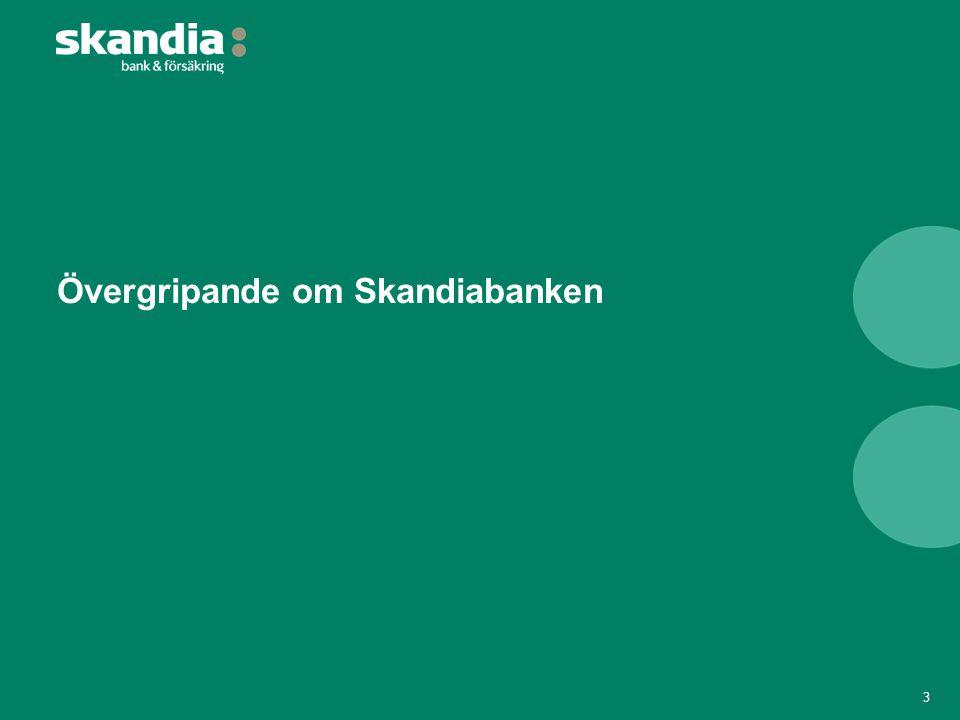 Övergripande om Skandiabanken 3