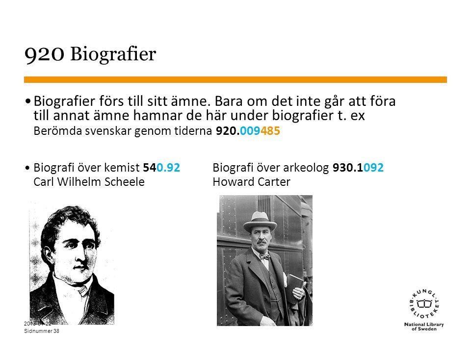 Sidnummer 38 920 Biografier •Biografier förs till sitt ämne.