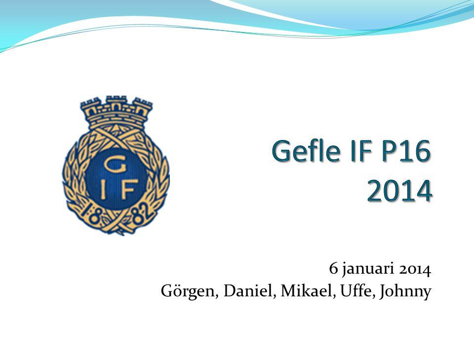 6 januari 2014 Görgen, Daniel, Mikael, Uffe, Johnny