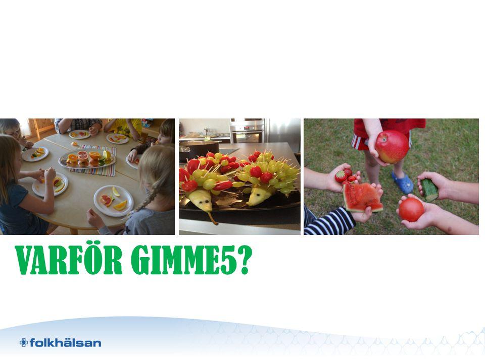 VARFÖR GIMME5?
