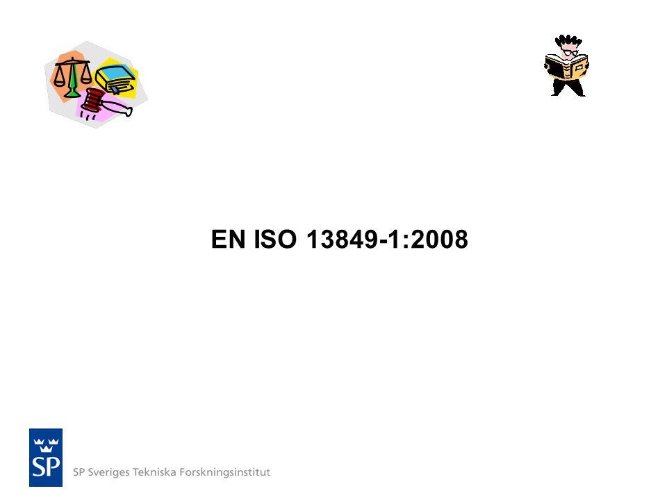 EN ISO 13849-1:2008